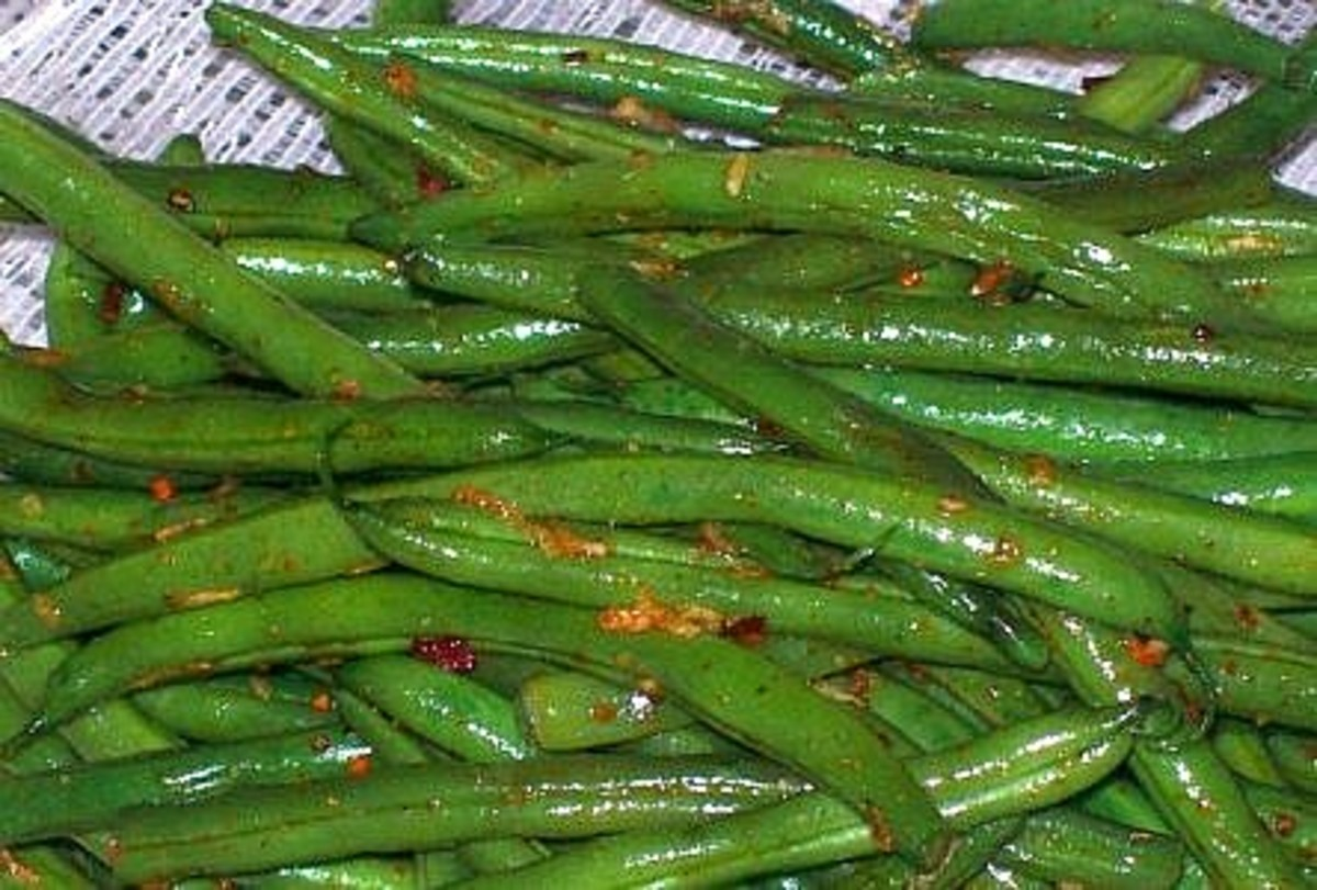 Simply Sauteed Green Beans