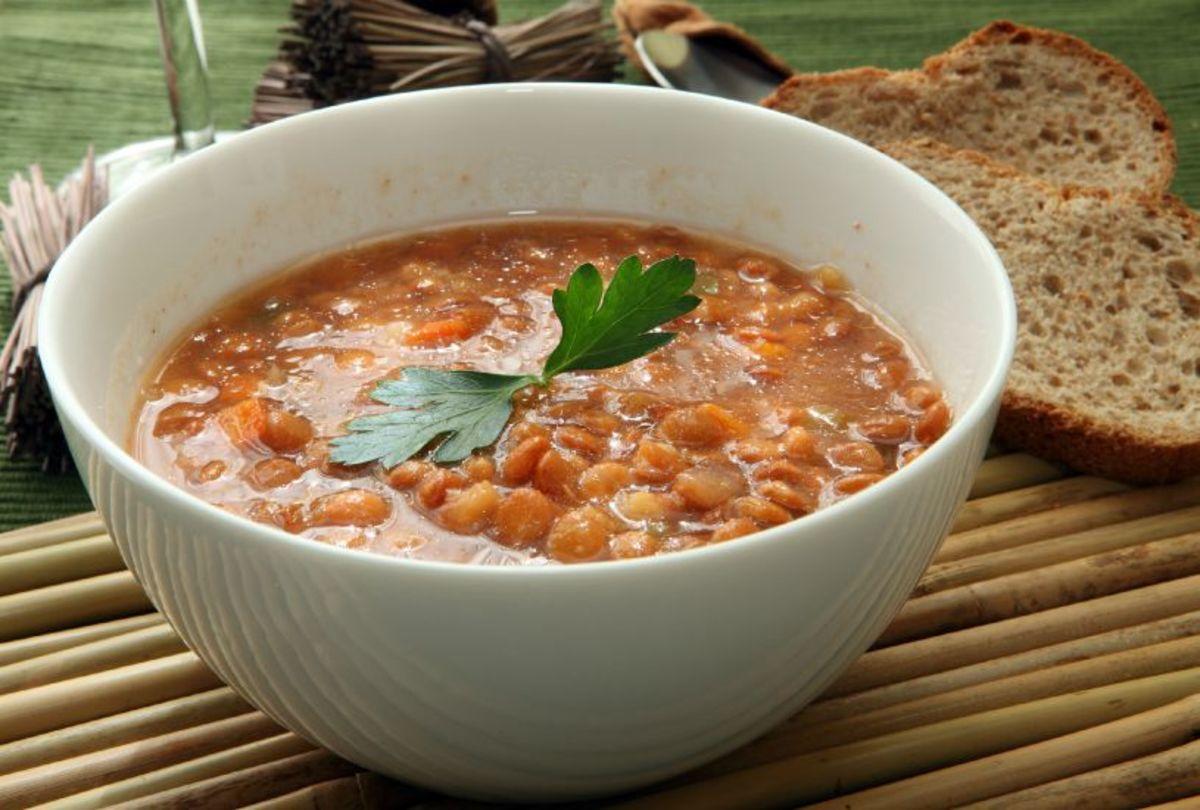 Existential Lentil Soup
