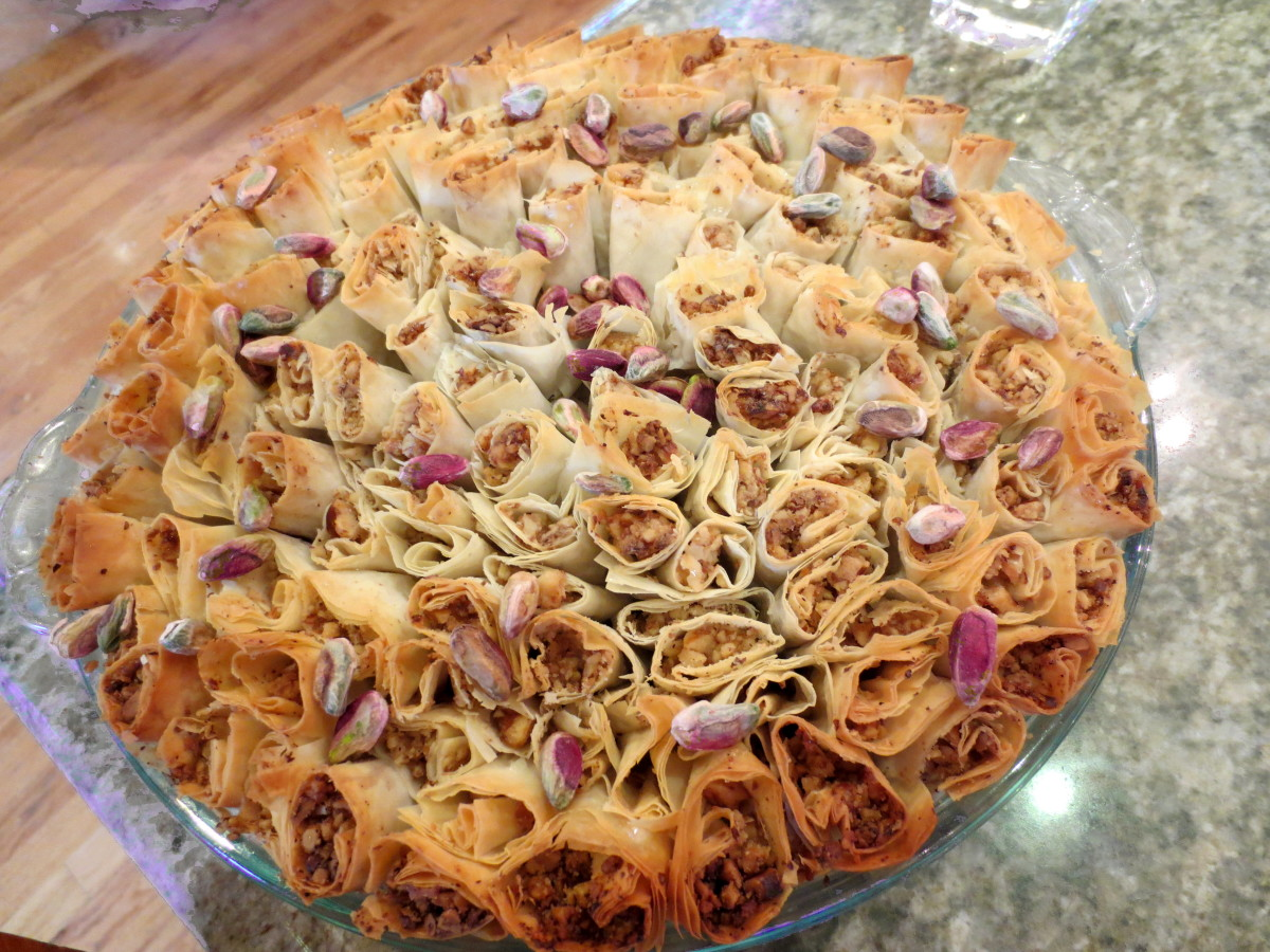 Baklava Bouquet