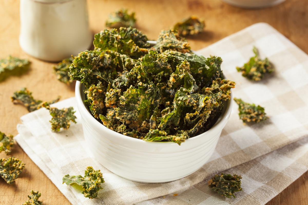4 Kale Chip Flavors