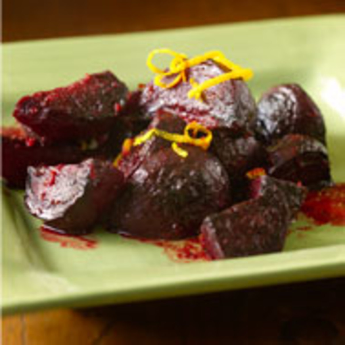 Roasted Beets With Orange Sauce