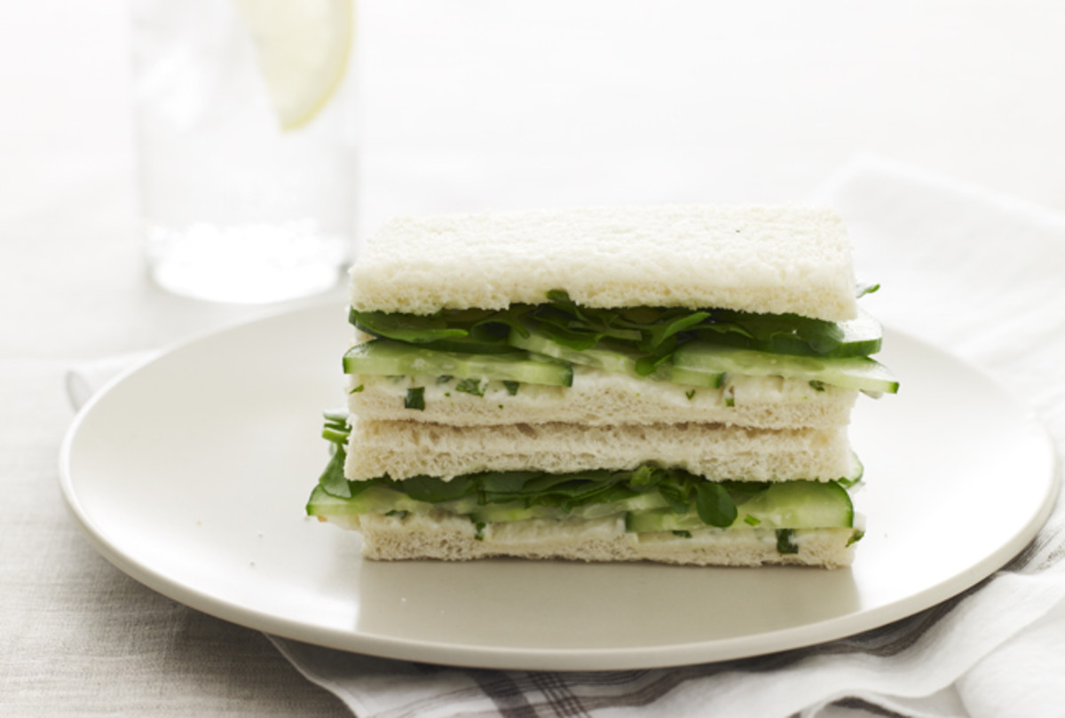 cucumber tea sandwich