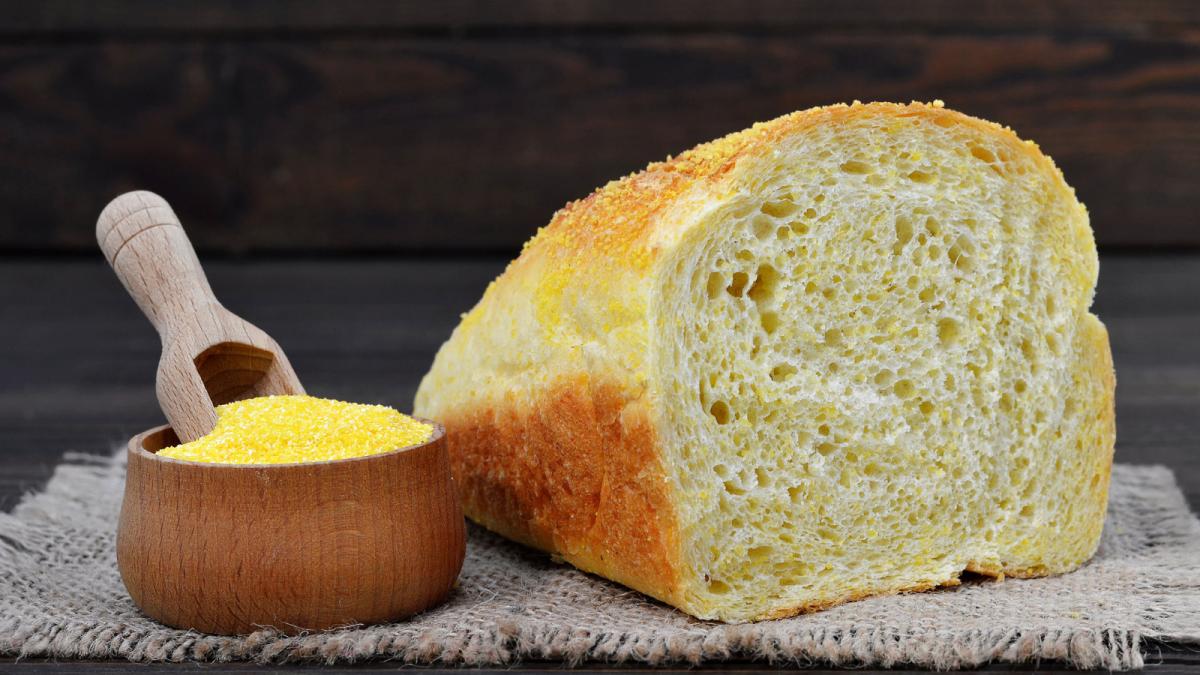 Cornmeal Millet Bread
