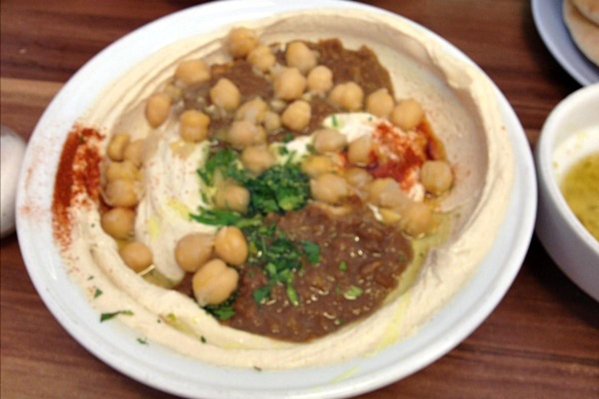 hummus from tour