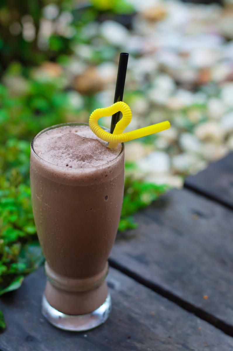 chocolate energy drink