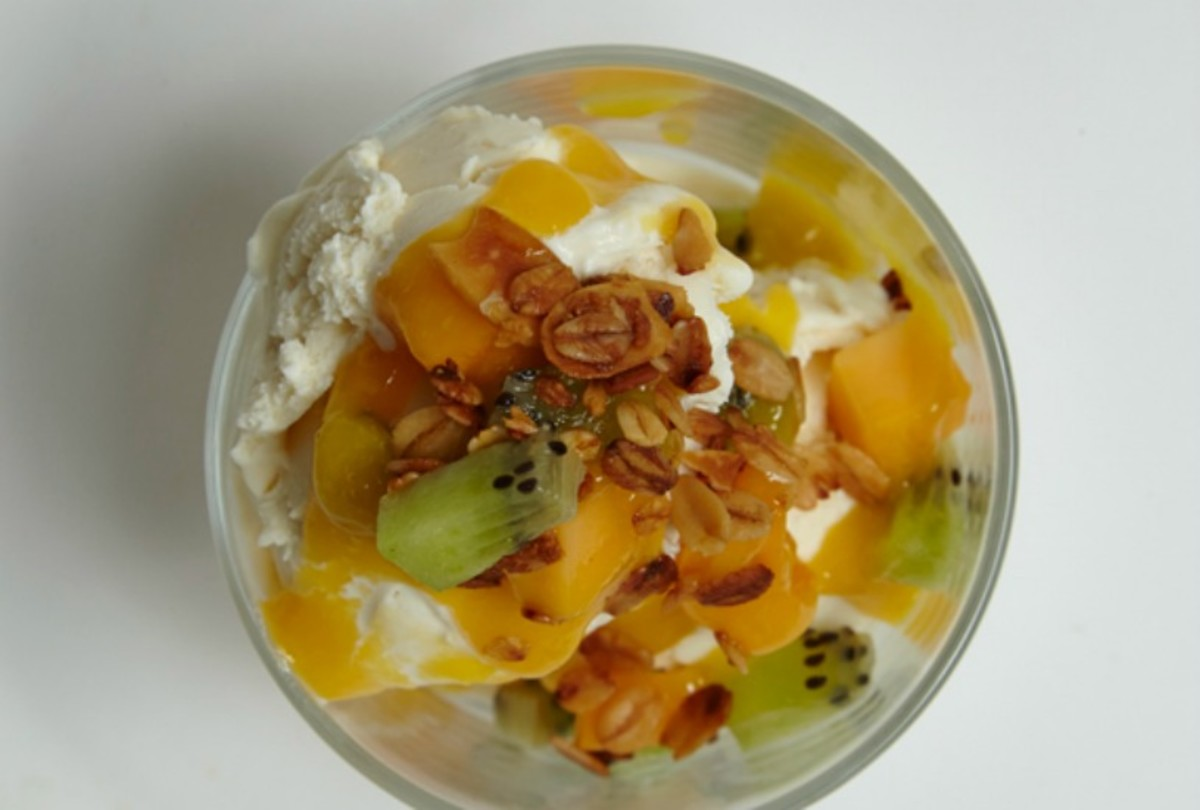 Tropical Frozen Yogurt