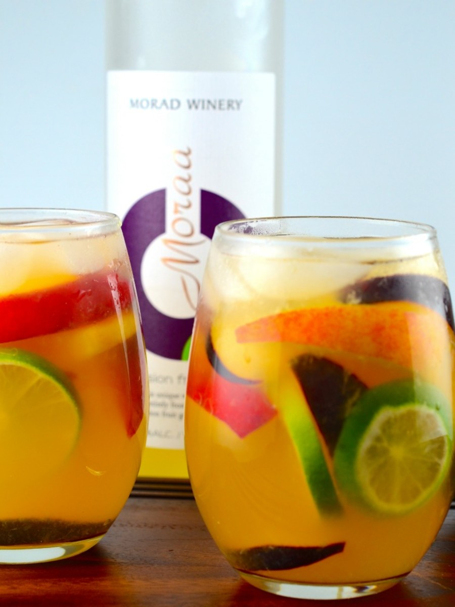 passion fruit sangria