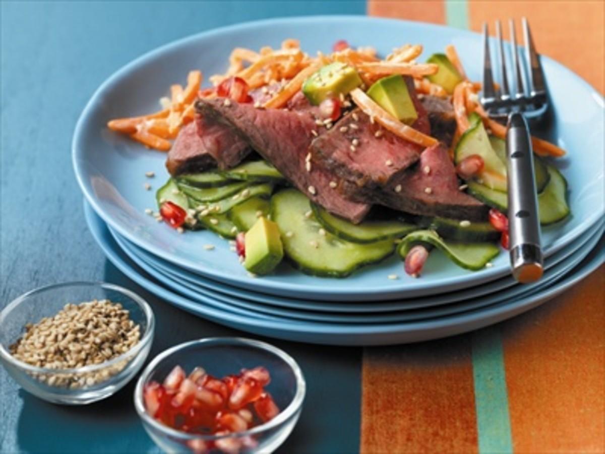 Beef__California_Roll__Salad