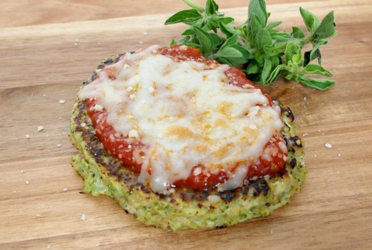 Broccoli Pancake Pizza