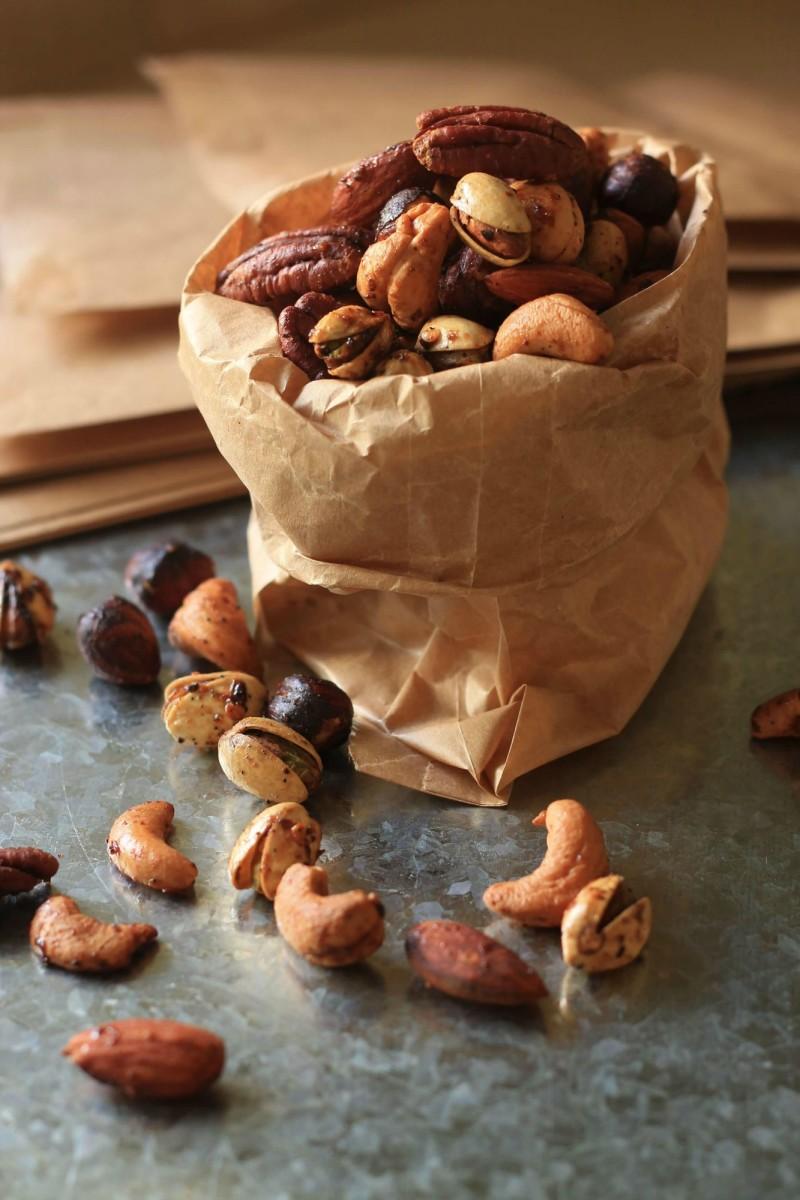 Chai Masala Roasted Nuts