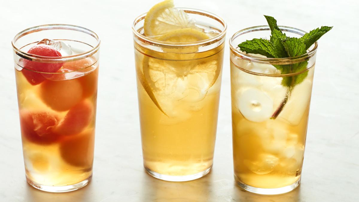 Jamie's Iced Green Tea 3 Ways