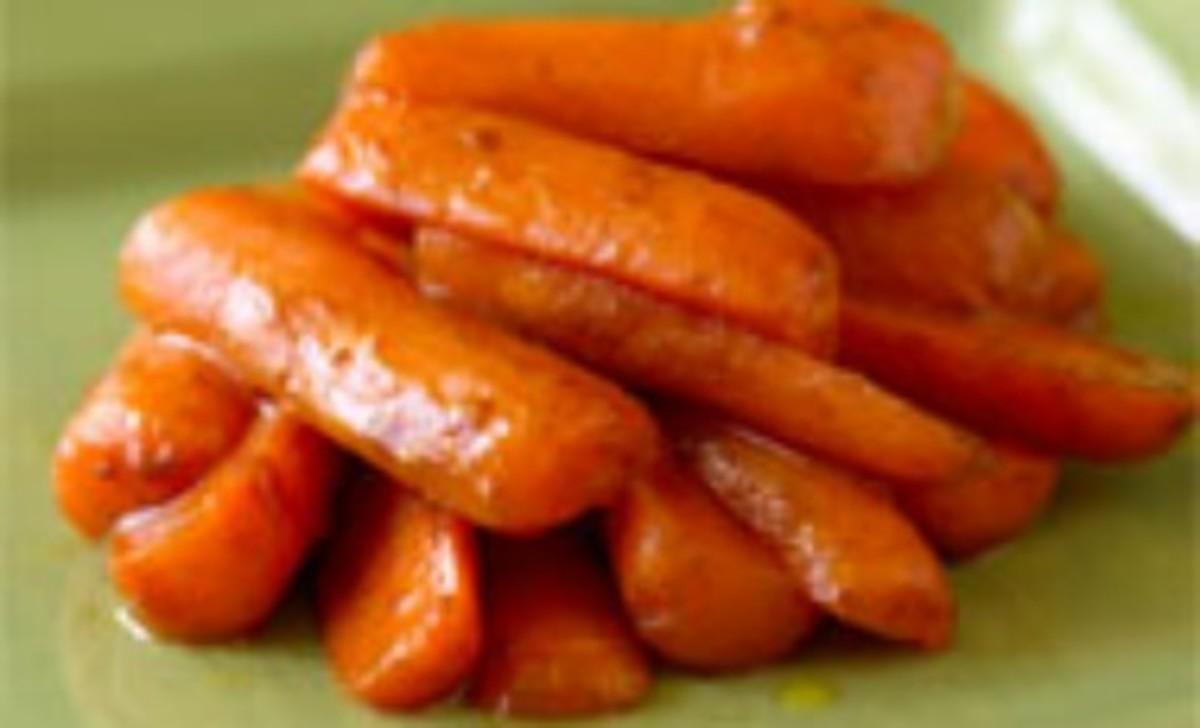 Cinnamon-Glazed Baby Carrots