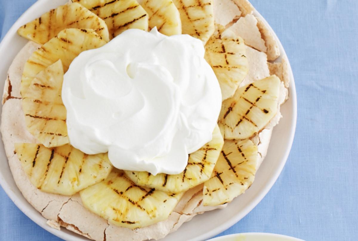 grilled-pineapple-dessert