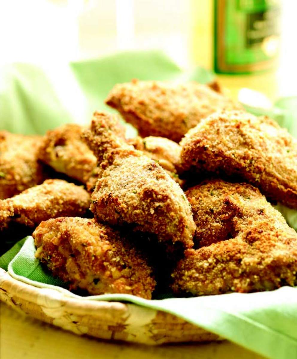 southern style fried chicken because it's baked not fried