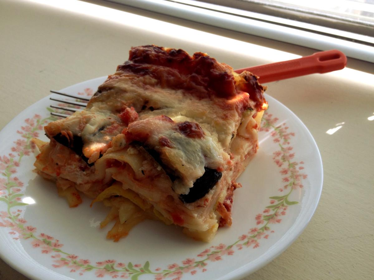 Summer Squash Lasagna Shoshie