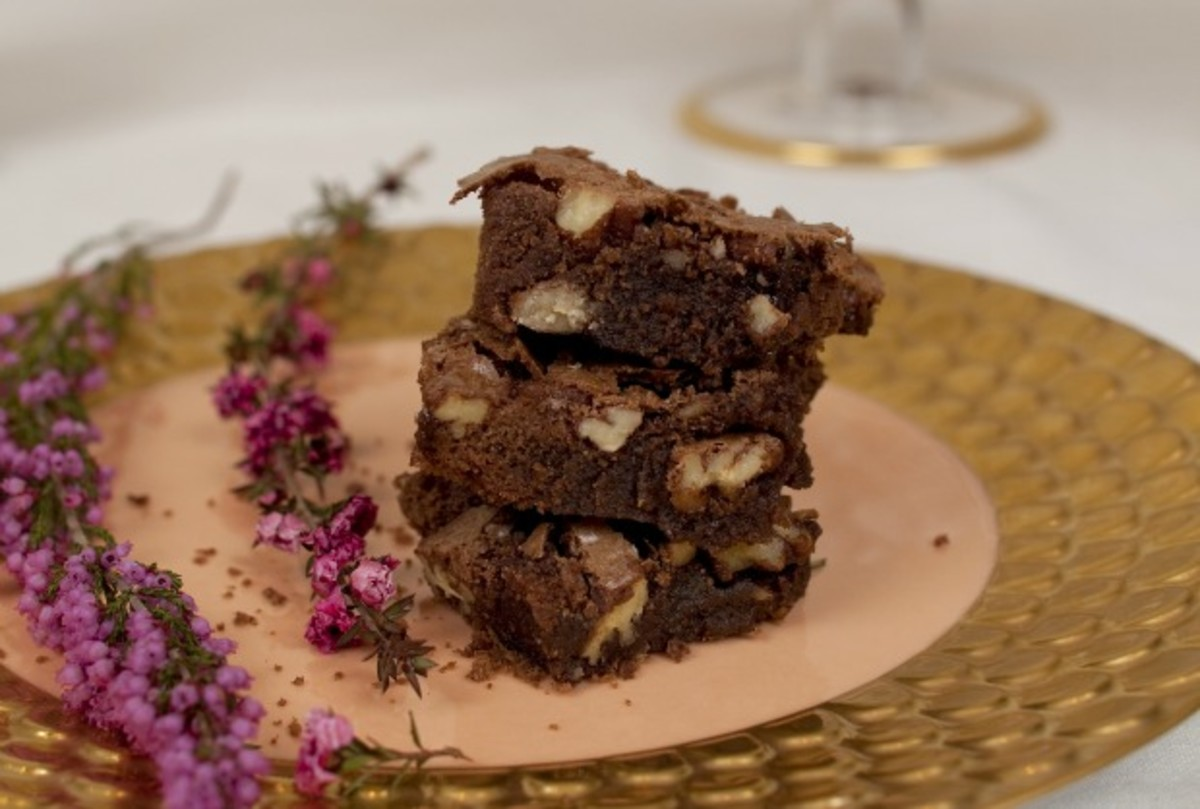 Passover Pecan Brownie