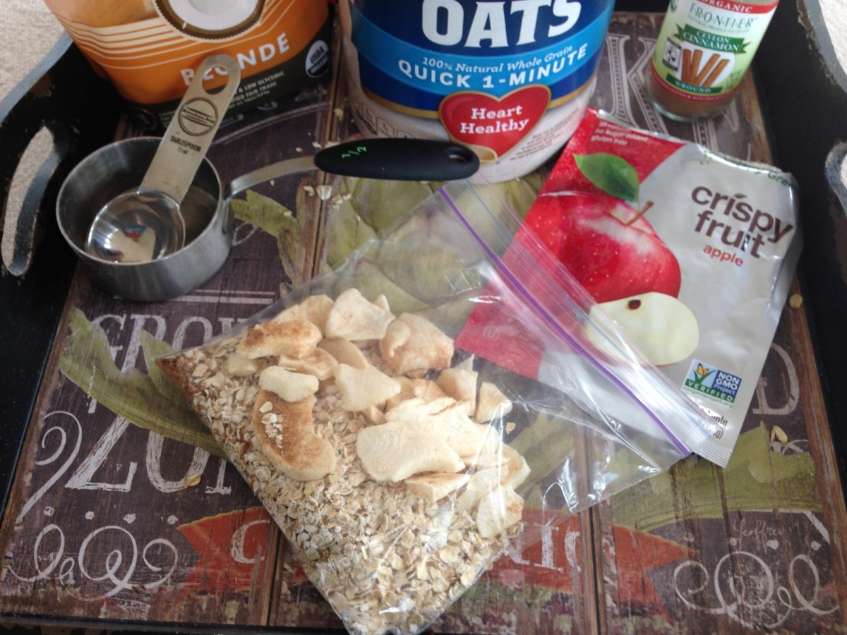 apple oatmeal mix