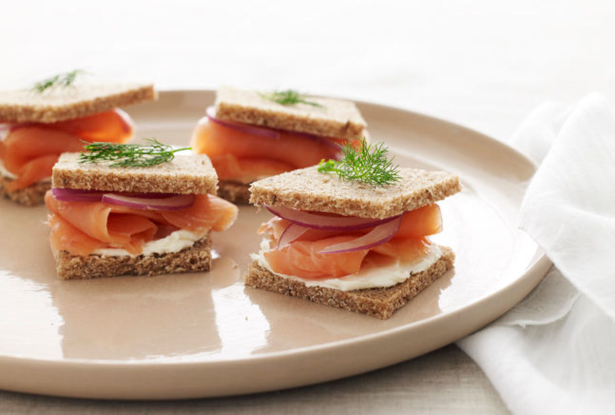 salmon-tea-sandwich