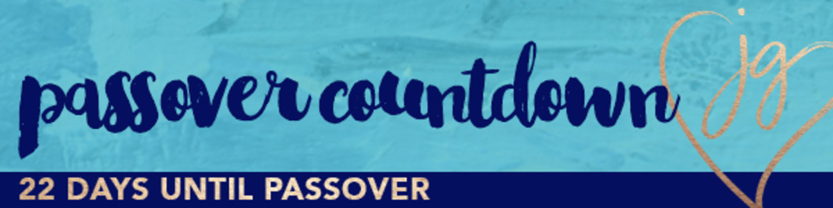 Passover countdown 22days