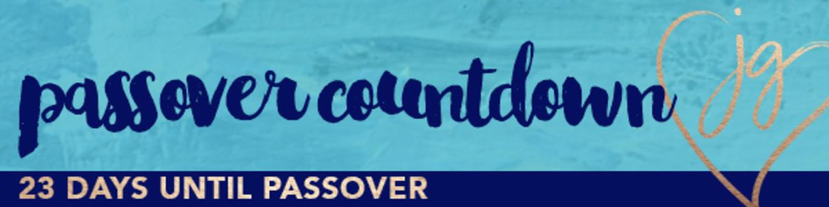 Passover countdown 23days