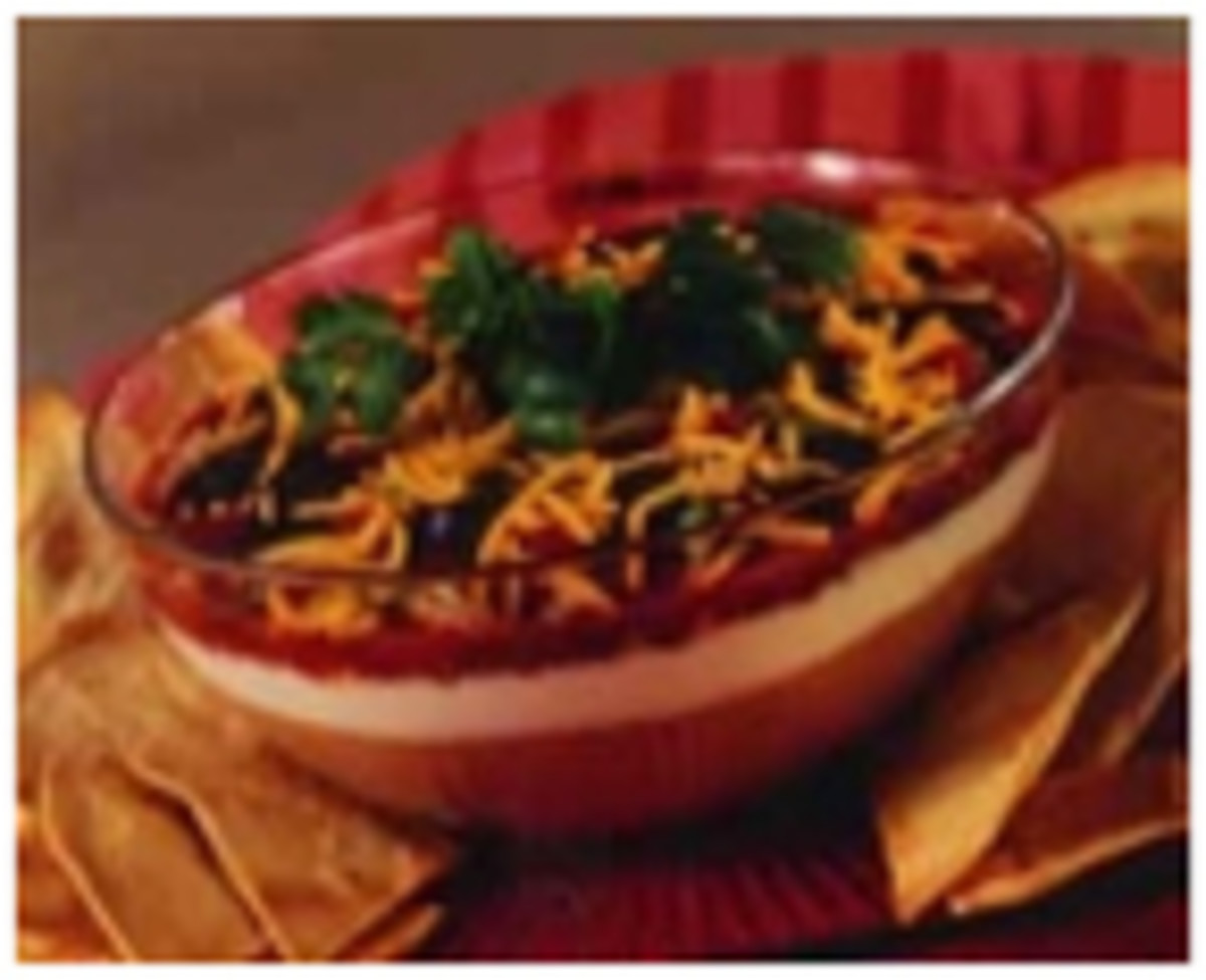 Fiesta Layered Bean Dip