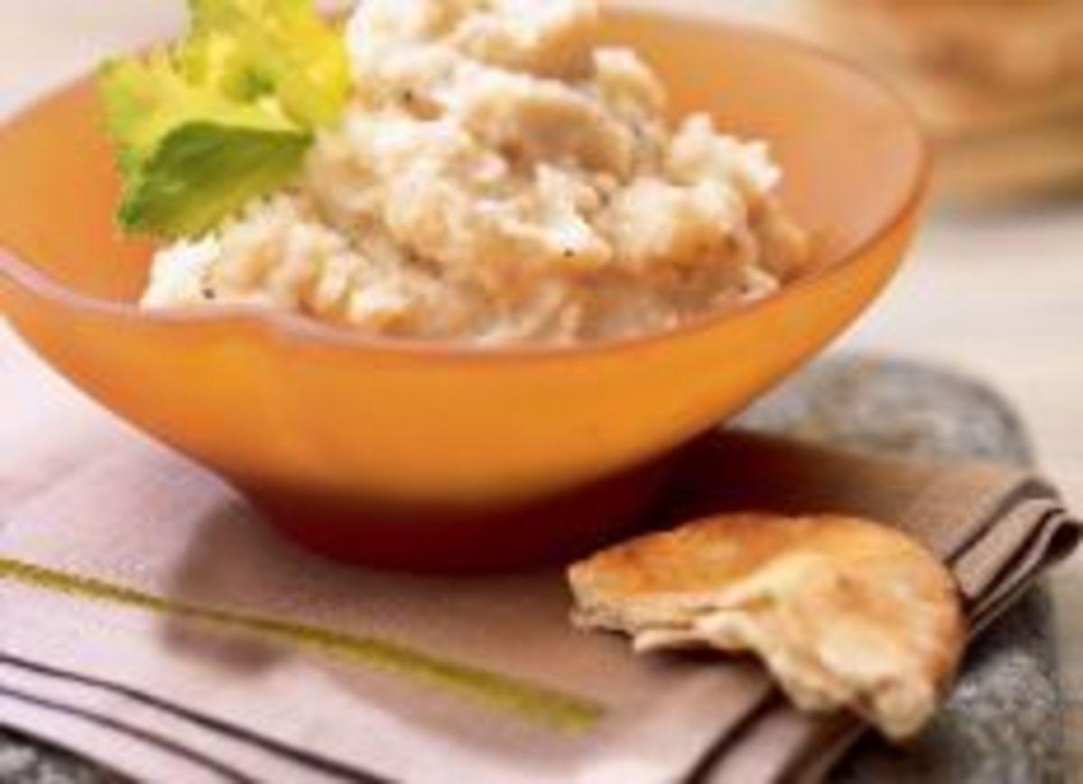 Idaho® Potato and Celery-Root Skordalia