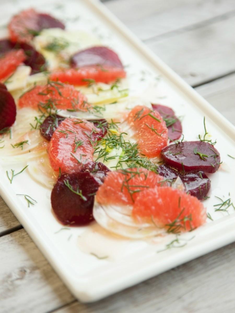 Fennel Grapefruit Salad