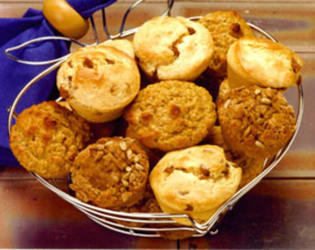 Banana Orange Muffins