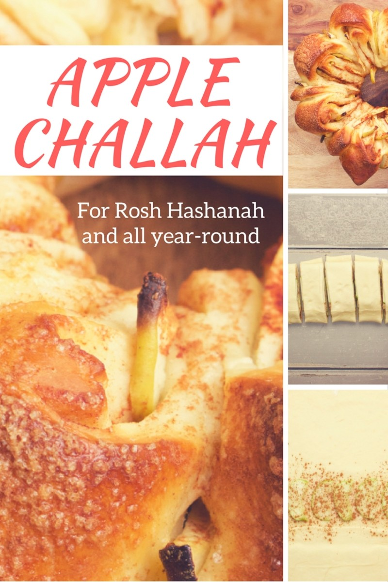 Apple Challah Pinterest Pin