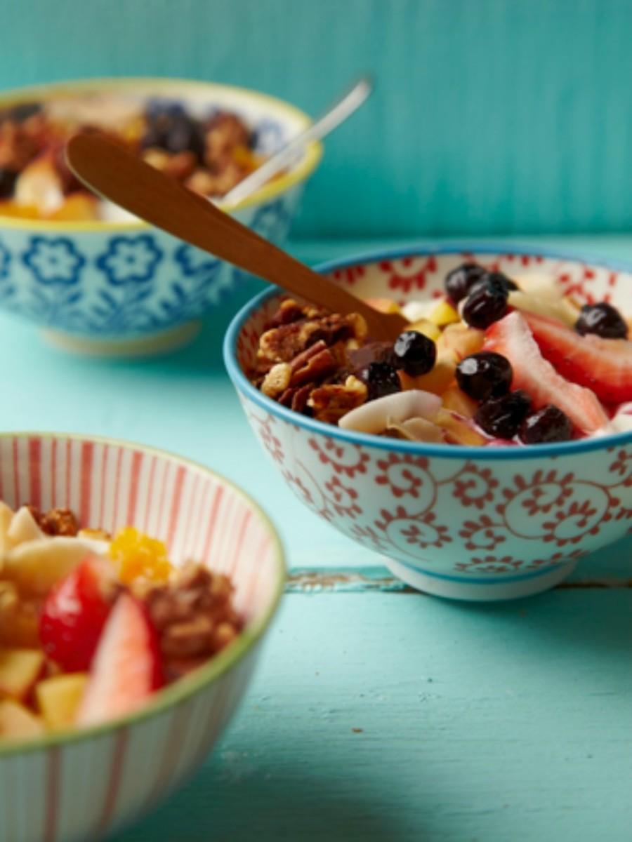 yogurt bar bowl