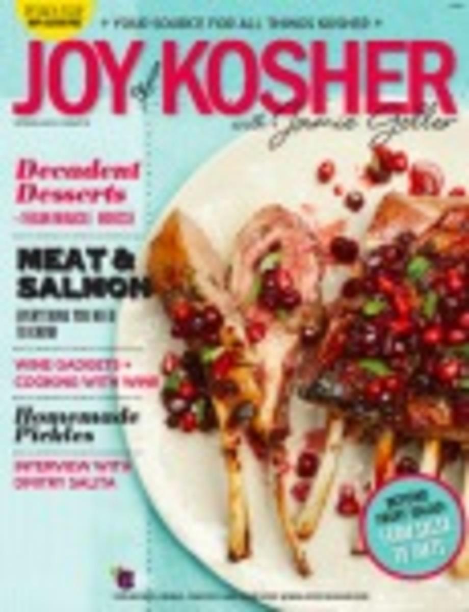 Joy of Kosher Spring Magazine 2014