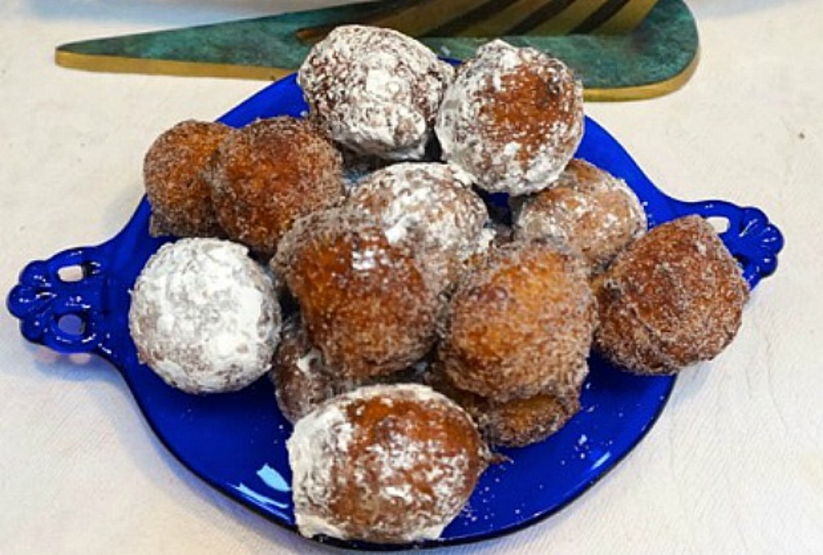 choux donut holes