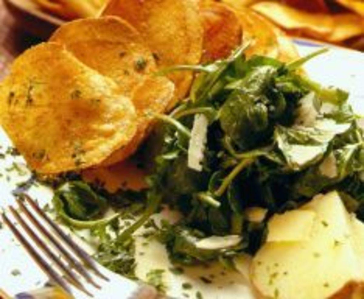 arugula-potato-crisp