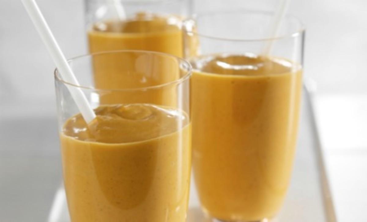 Pumpkin Yogurt Cheesecake Shake