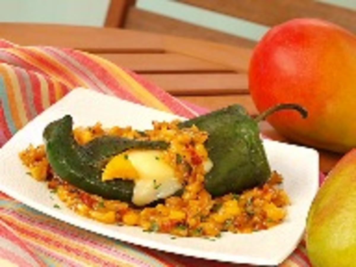 Mango Chiles Rellenos Al Carbon