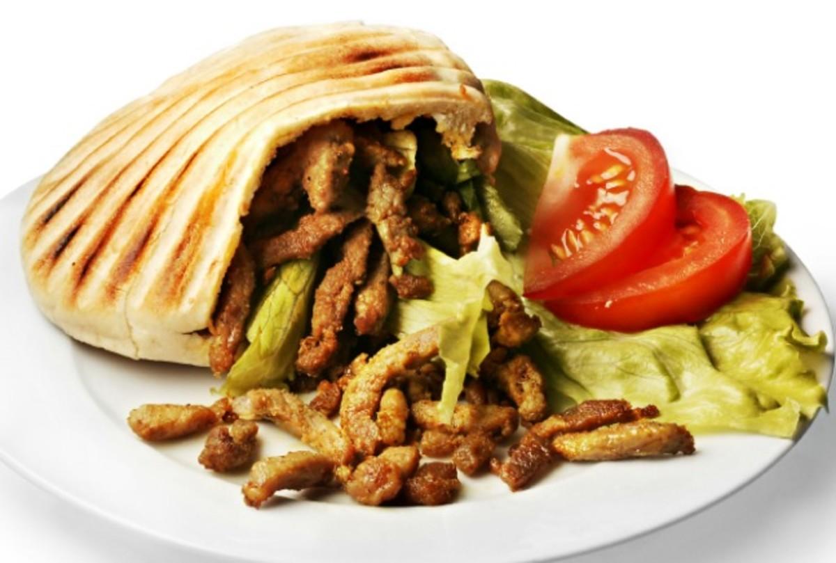 Leftover Turkey Shawarma