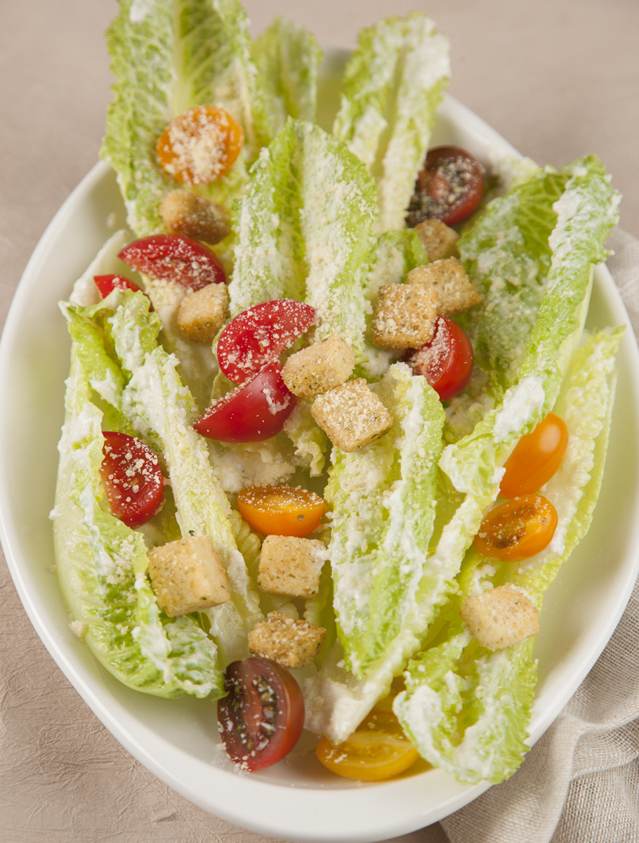 Greek Yogurt Caesar Salad Pg. 34