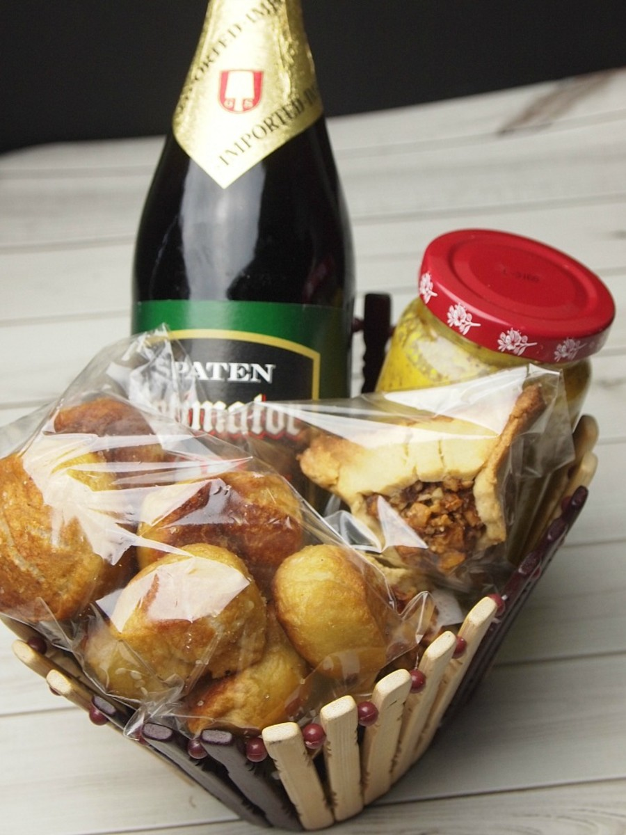 Oktoberfest Mishoach Manot Basket
