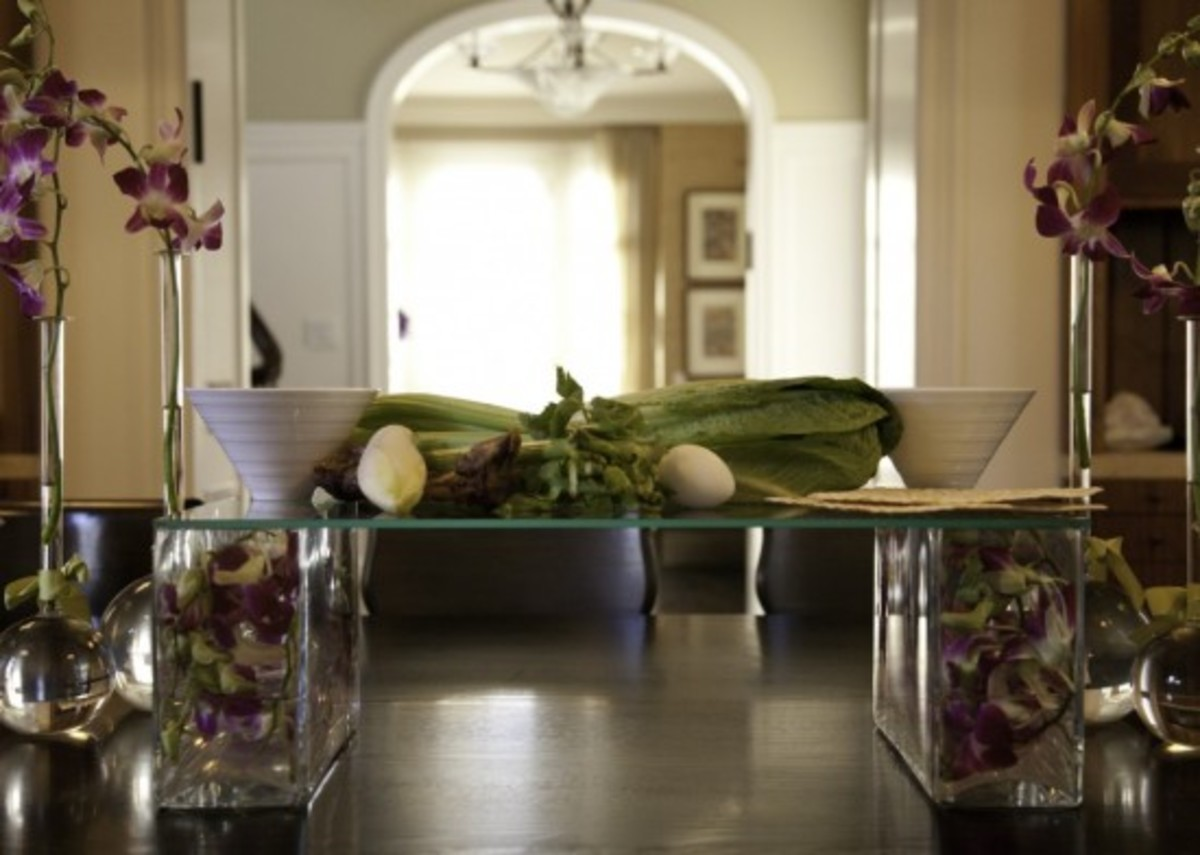 Modern Seder Plate, DIY,
