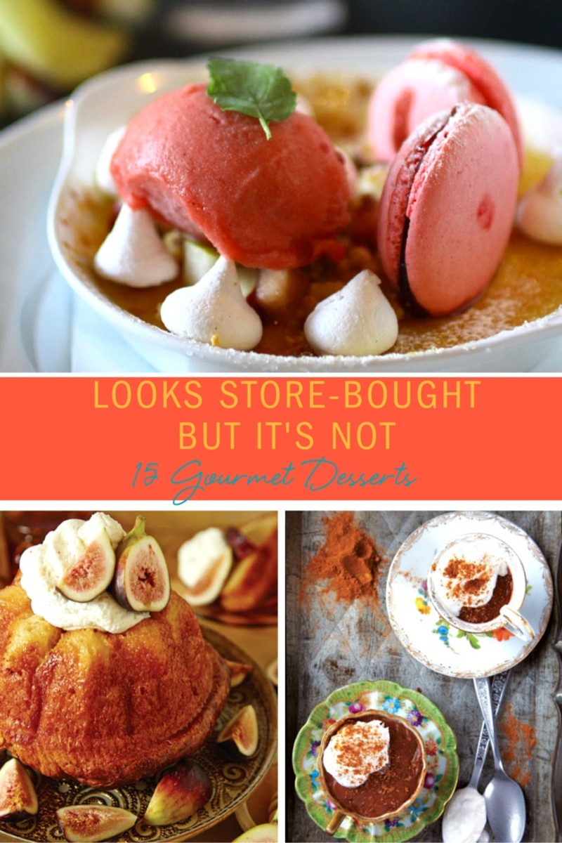 Gourmet Desserts Pinterest