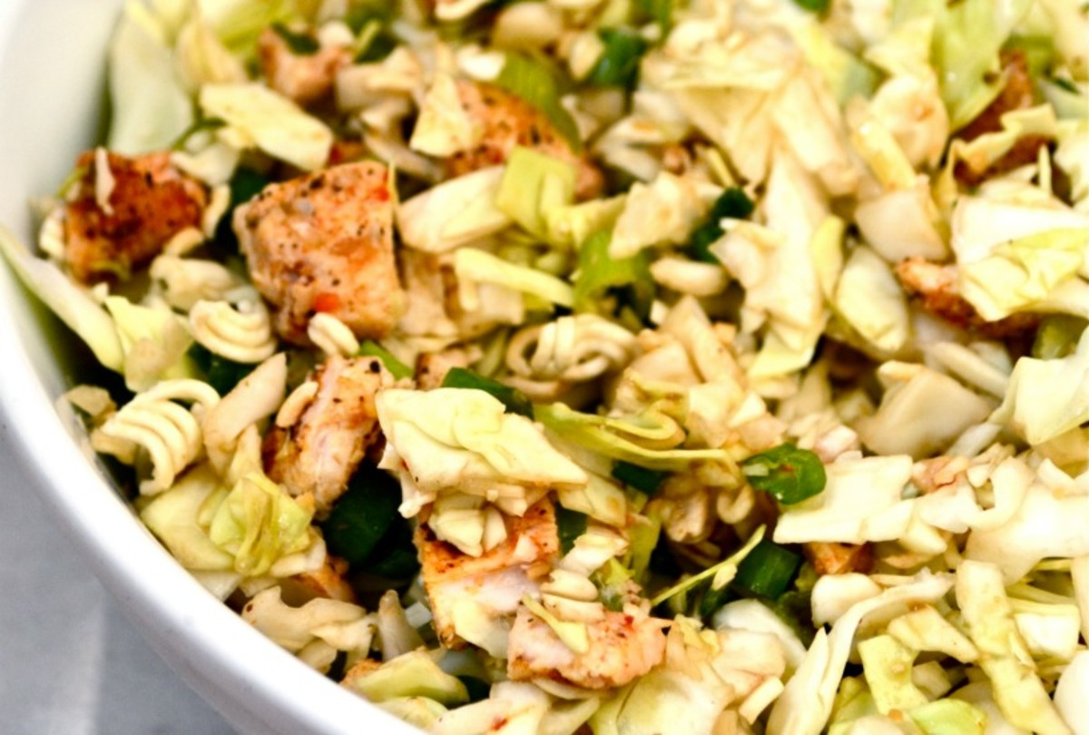 Cabbage Chicken Salad