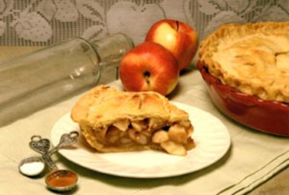 Autumn Apple Pie & Double Pastry Crust