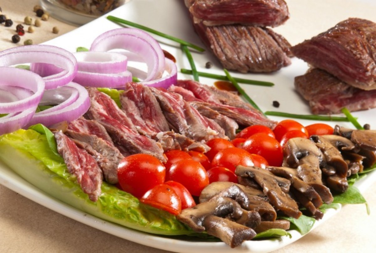 Skirt Steak Salad (1)