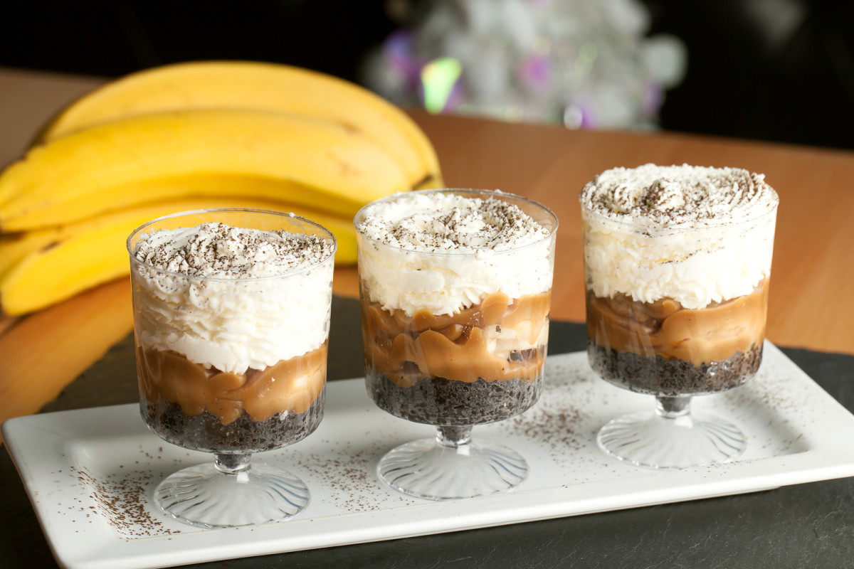 quick coffee trifle