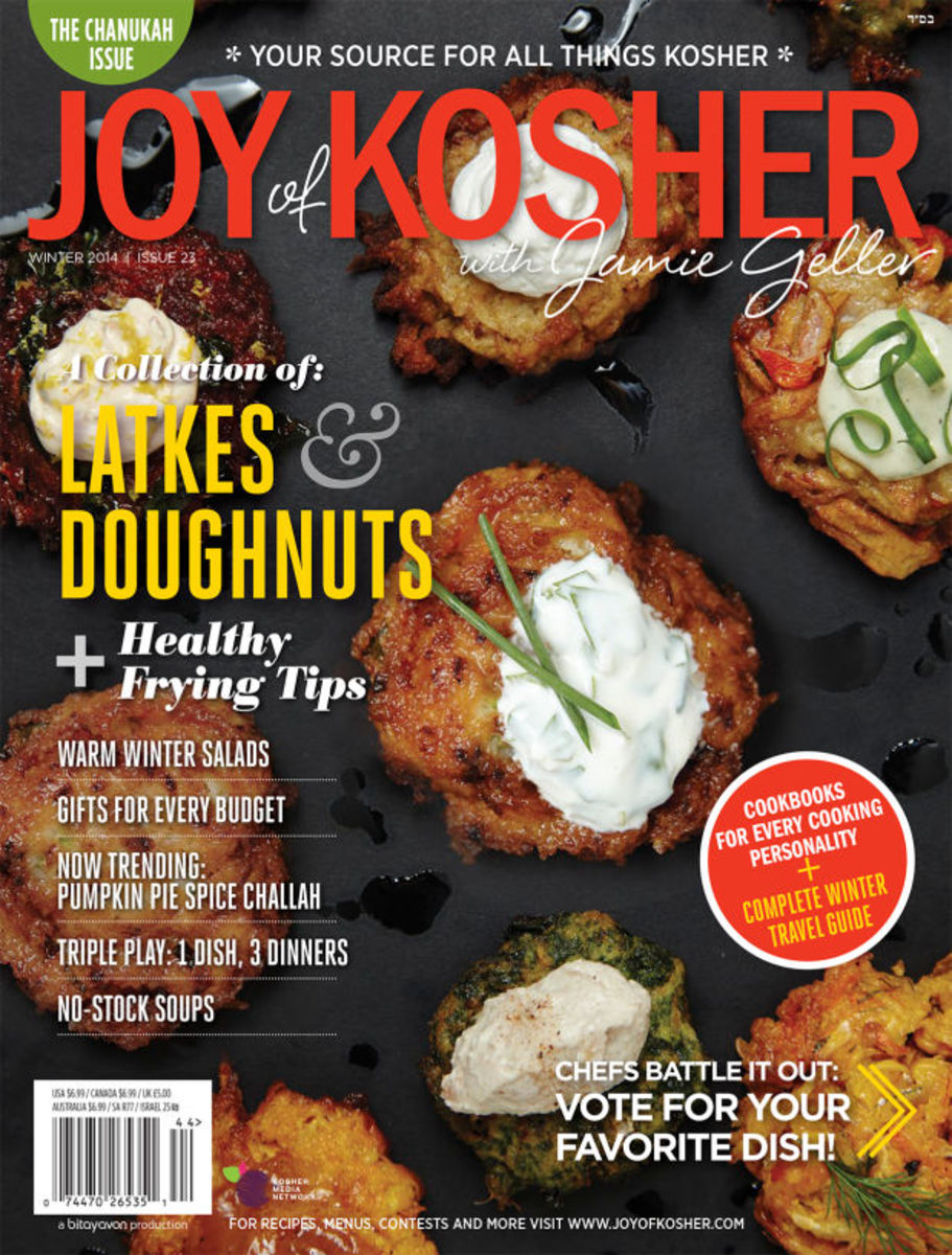 JOY of KOSHER with Jamie Geller Magazine Winter 2014