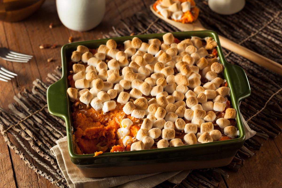 tipsy sweet potatoes