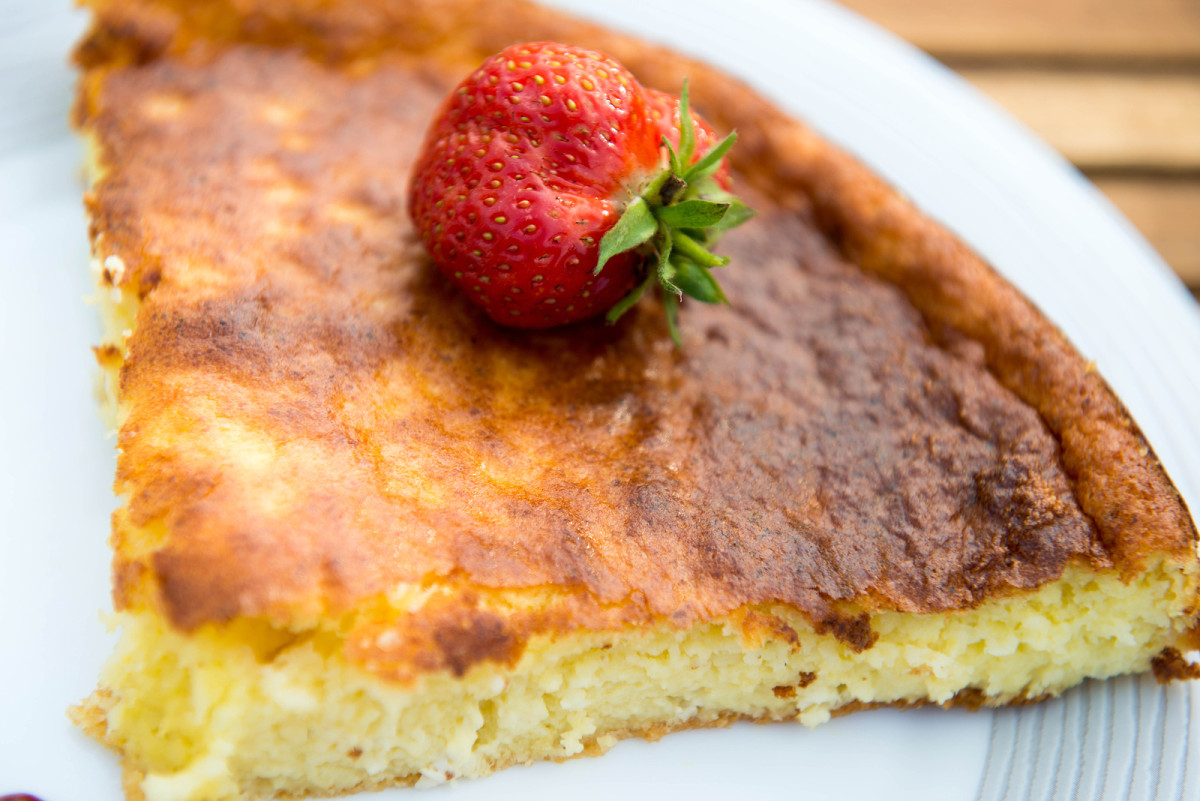 easy cheese blintz souffle