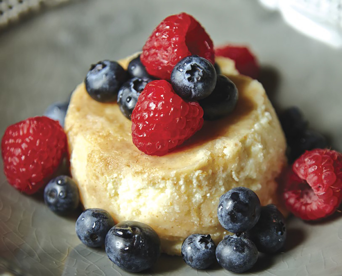 Steamed Meyer Lemon Ricotta Cakes Pg. 53
