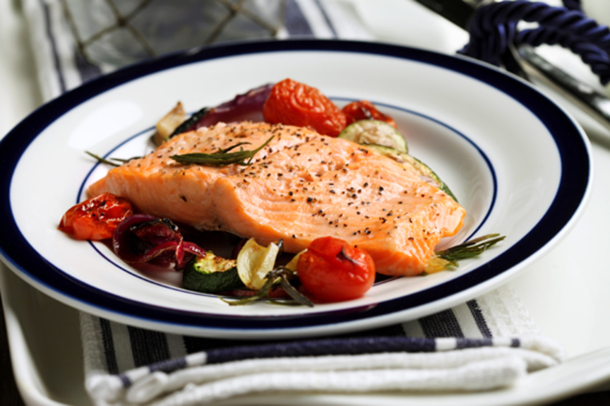 Broiled_Trout_with_Lemon_Oil___Oven_Grilled_Vegetables_1