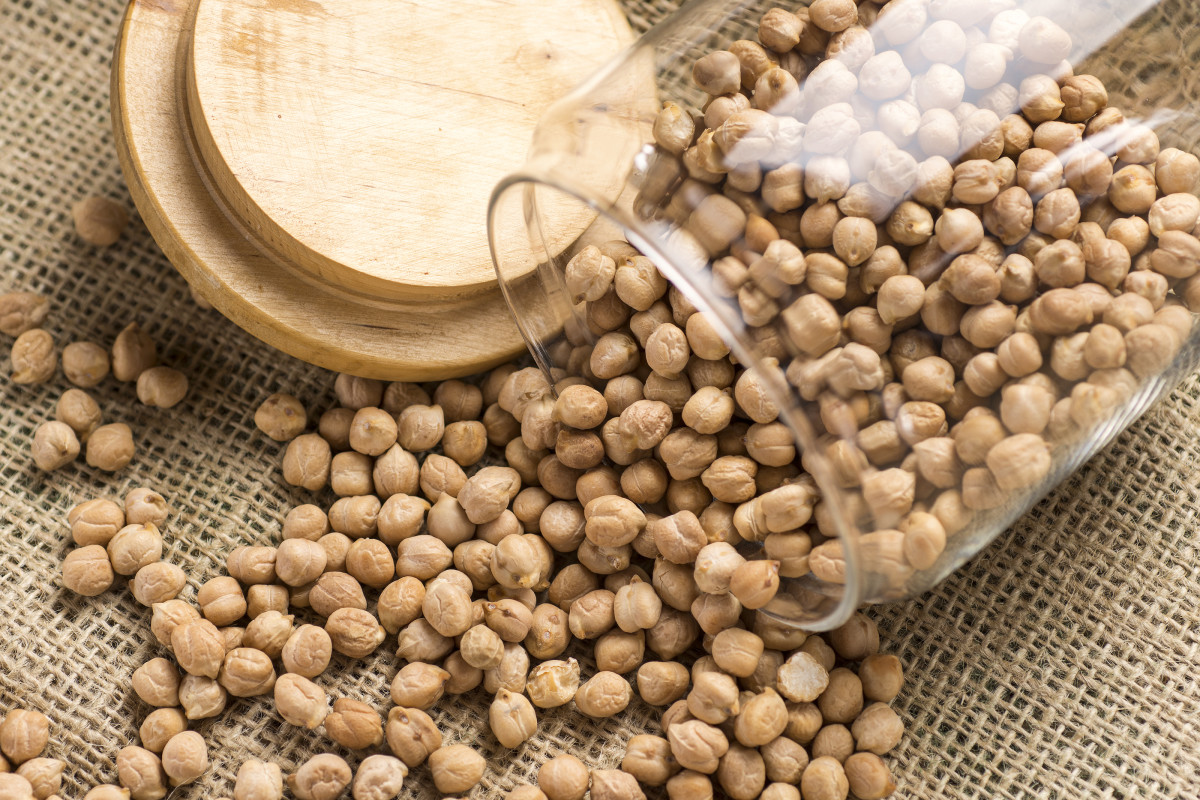 Raw Chickpeas